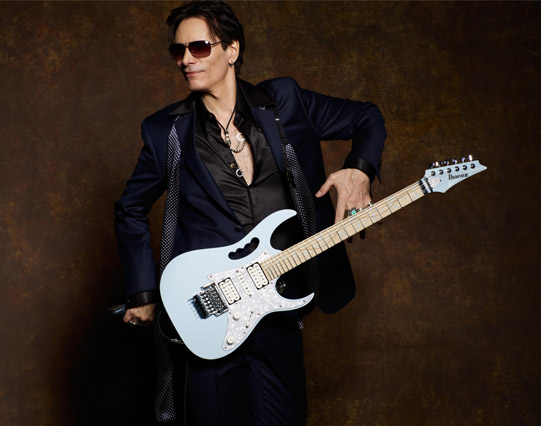 STEVE VAI: <BR> Recorda «Passion &#038; Warfare»